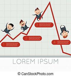 Business concept about crisis3