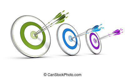Business Concept - Achieving Multiple Strategic Objectives -...