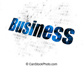 Business concept: Business on Digital background