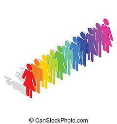 Diversity - Business Concept - Diversity