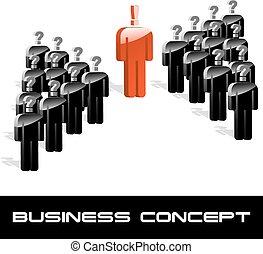 Business concept illustration.