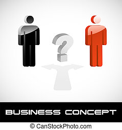 Business concept illustration.