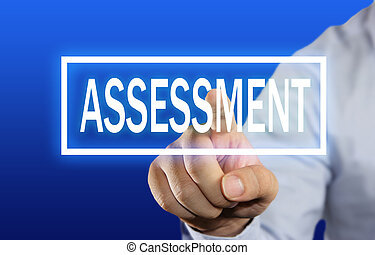 Assessment - Business concept image of a businessman ...