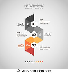 Business concept infographic step t