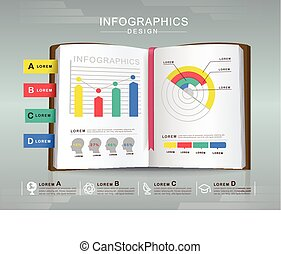 business concept infographic template design