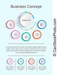 Business Concept Infographic Vector Illustration