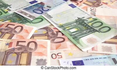 Business concept - money, charts