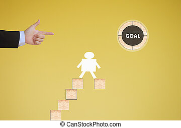 business concept of goal