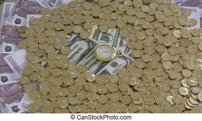 """Business concept - """"time is money"""""""