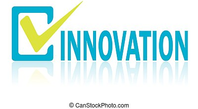 Business Concept, Vector of Innovation Text