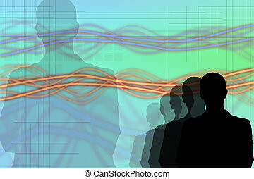 business concepts-10 - business abstract background