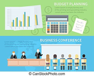 Business Conference and Budget Planning