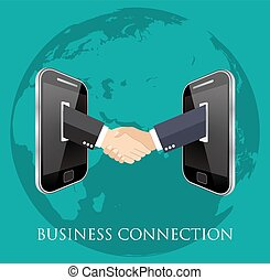 business connection and relations.