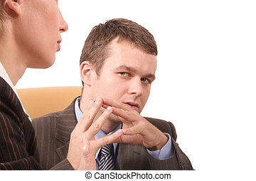 business conversatio