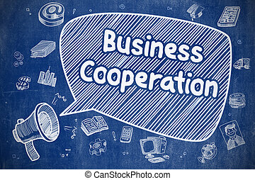 Business Cooperation - Business Concept.