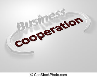 Business - cooperation - letters