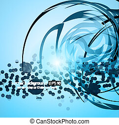 Business Corporate Background with Abstract Glowing motive