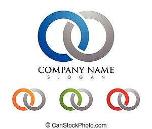 Business corporate logo design template