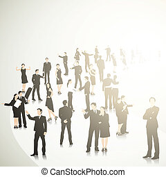 Business Crowd