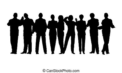 business crowd vector 2 all people movebale