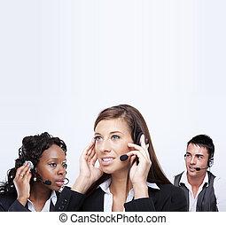 business customer service representatives