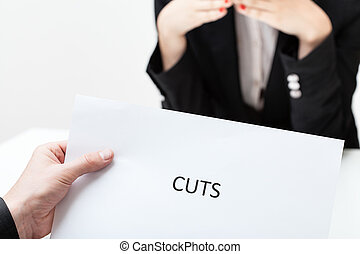 Business cuts