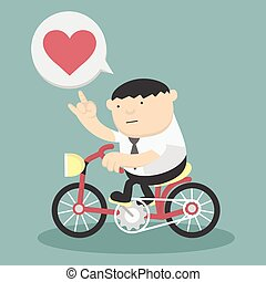 Business cycling show love