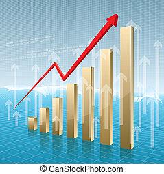 Business data analysis. Enterprise performance report design.