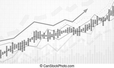 Business data analytics. Financial graph chart. Graph chart of stock market investment trading. Abstract analisys and statistic diagram. vector illustration