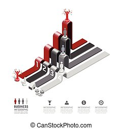 Business data process chart