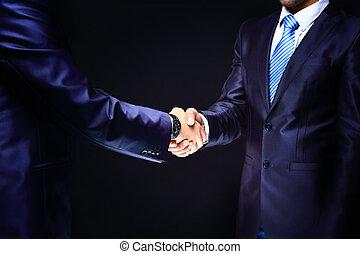 Business Deal. Handshake