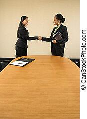 Business deal.