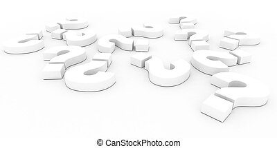 Business Decisions - A 3d Rendered Business Decisions...