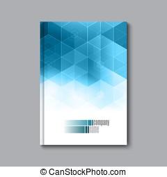 Business design template. Cover brochure book flyer magazine...