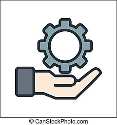 business development icon color
