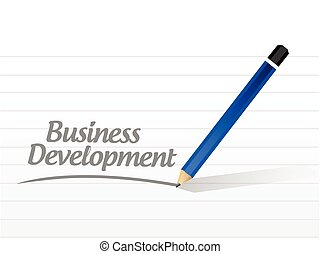 business development message