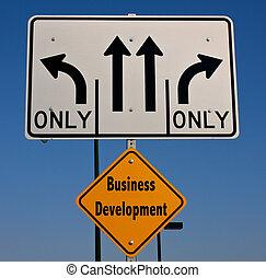 Business Development Sign