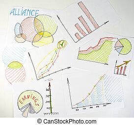 Business diagrams