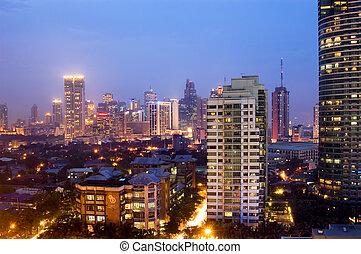 Buildings in Makati, Philippines