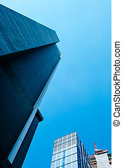 Business District, Corporate Buildings in Bangkok Thailand
