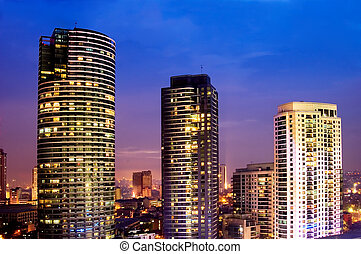 Business District - One of Metro Manila\\\'s business and...