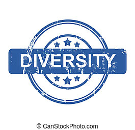 Business diversity stamp