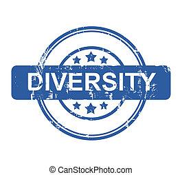Business diversity stamp