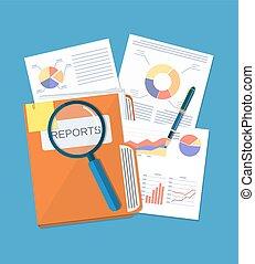 Business document concept