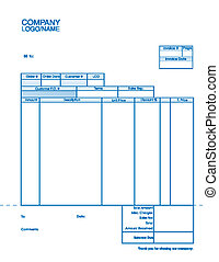Business Document Invoice Template