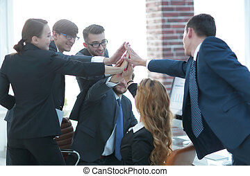business, donner, chaque, élevé, autre, cinq, équipe
