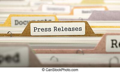 business, dossier, presse, relâchements, catalog.