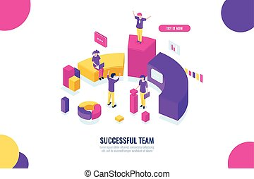 Business education and consultancy, success team work,...