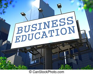 Business Education Concept.