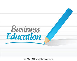 business education message
